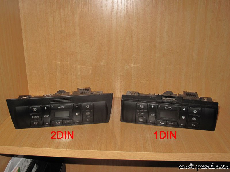 Audi a4 b5 wymiana radia concert plus 1din na symphony for Mueble 2 din audi a4 b6